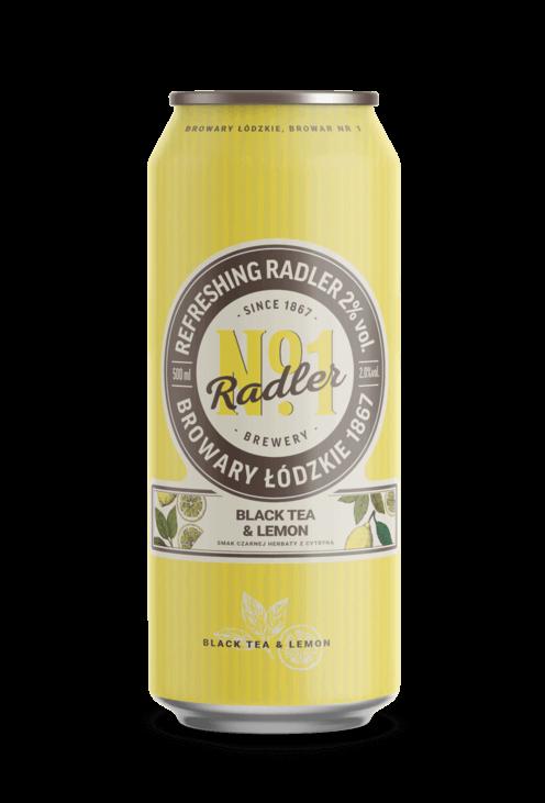 Radler black tea & lemon